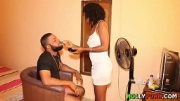 Makeup Artist Got Fucked By a Nollywood Film Producer - NOLLYPORN