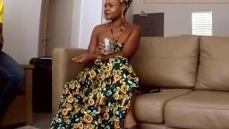 Piss Drinking Ebony And Anal Cuckold
