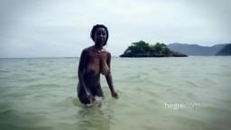 Beautiful Kiky Rucker With Sexy Caribbean Curves
