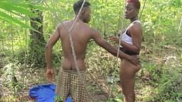 The contractor caught fucking the company secretary at the Bush during the cassava nosing p..
