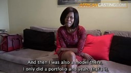 AFRICAN ANAL SEX CASTING!!!!